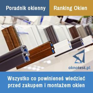 oknotest.pl okna pcv ranking